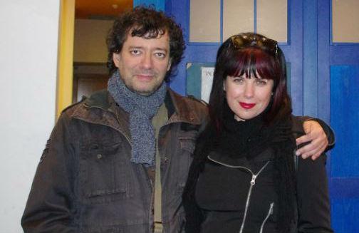 Gabriella Campbell y José Antonio Cotrina.